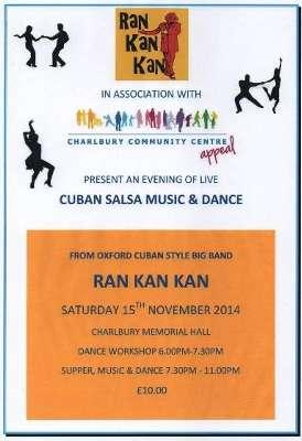 Live Cuban Salsa Music & Dance | charlbury info